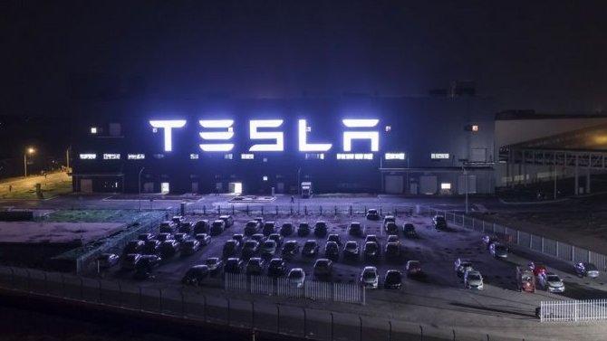 ВКитае начал работу завод Tesla