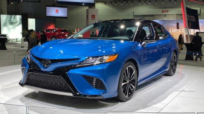 Лос-Анджелес— 2019: Toyota Camry получила полный привод
