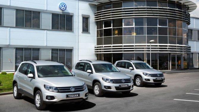 Volkswagen увеличит объём экспорта автомобилей изРоссии