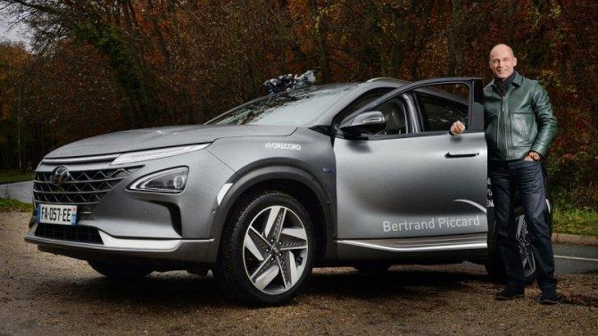 Водородный Hyundai Nexo установил рекорд пробега без дозаправки