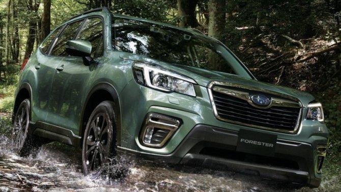 Subaru Forester получил внедорожное исполнение