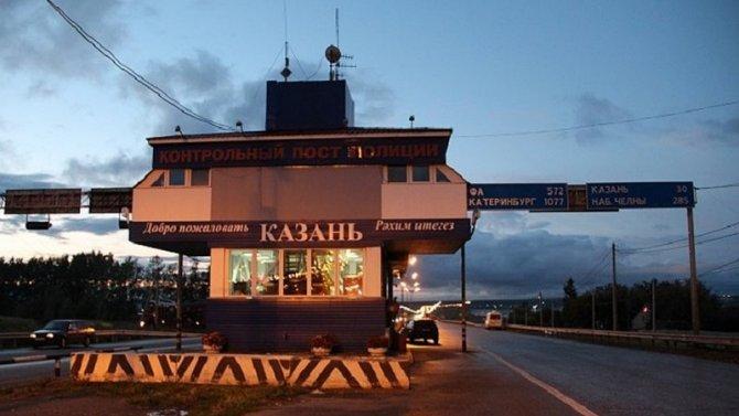 В Казани сотрудники ГИБДД разогнали пробки, чтоб успеть в роддом