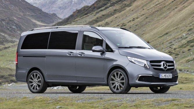 Mercedes-Benz обновил минивэн V-Klasse