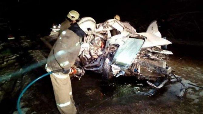 Два человека погибли в ДТП в Уфе