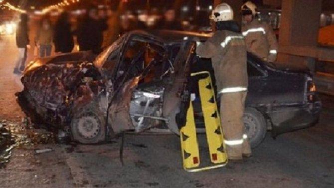 Два человека пострадали в ДТП в Уфе