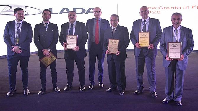 ВЕгипте начались продажи Lada Granta, собранных на местном заводе