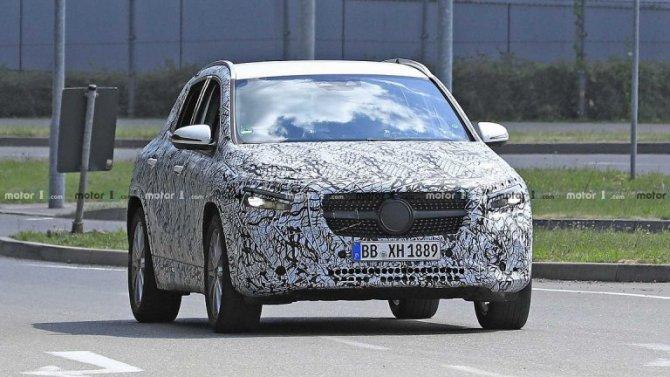 Известна дата презентации нового Mercedes-Benz GLA