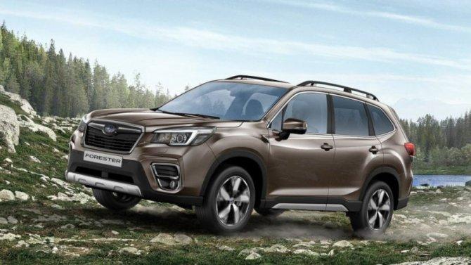 Начались продажи обновлённого Subaru Forester