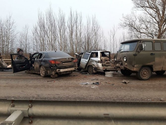 Три человека погибли в ДТП во Владимирской области (4)
