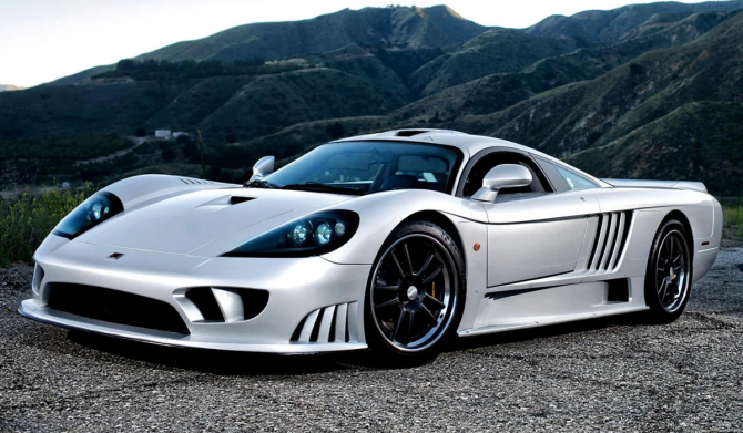 5 Saleen S7 Twin Turbo