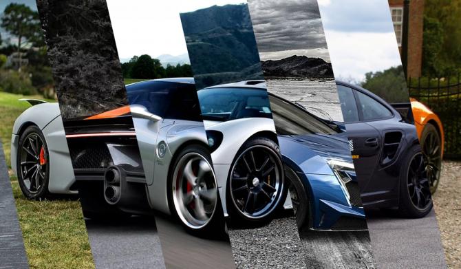 Топ самых быстрых машин стурбиной