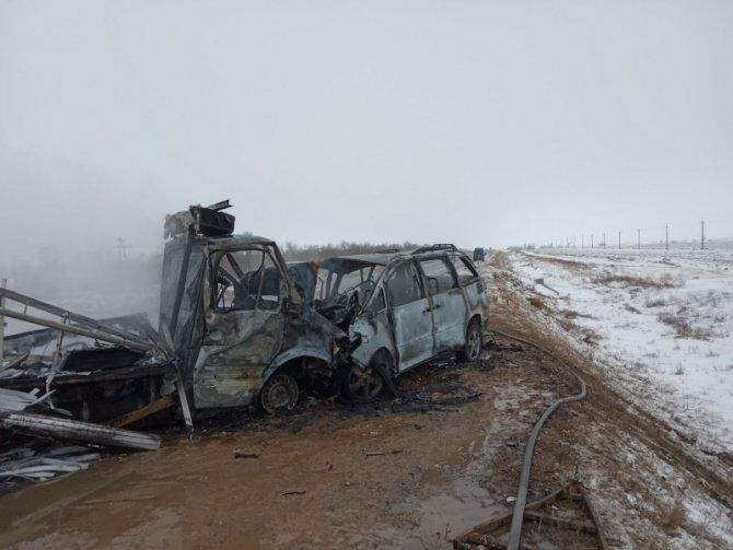 Четыре человека погибли в ДТП в Оренбургской области (1)