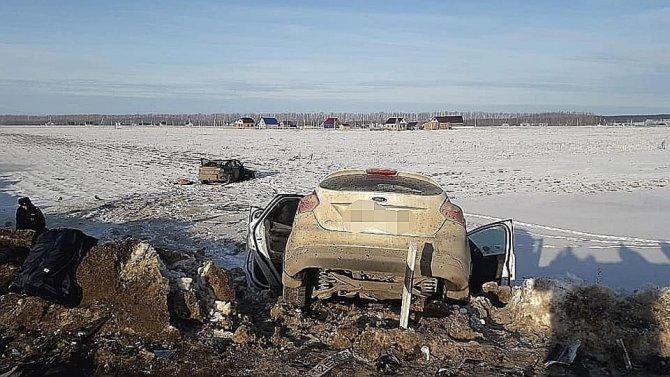 В ДТП в Башкирии погиб пассажир иномарки (3)