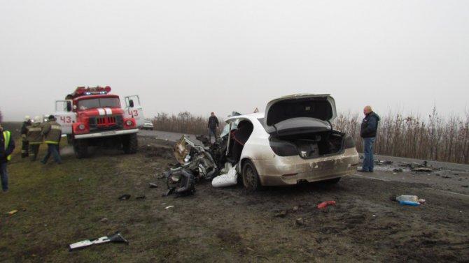 В ДТП в Нижнедевицком районе Воронежской области погиб человек (2)