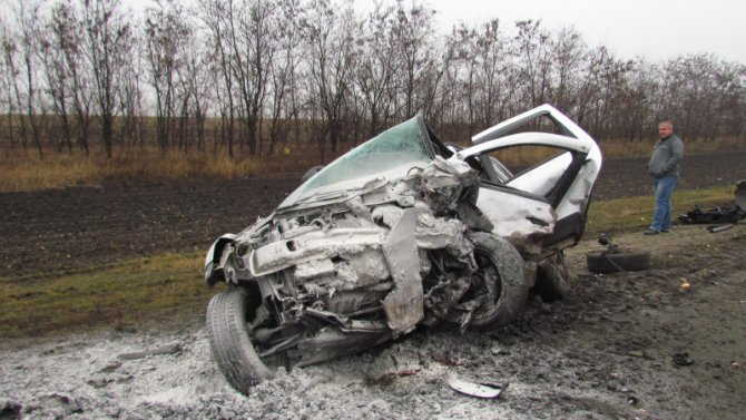 В ДТП в Нижнедевицком районе Воронежской области погиб человек (3)