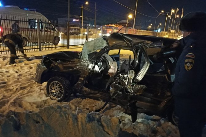 После ДТП с автобусом в Кургане водитель умер в больнице (1)