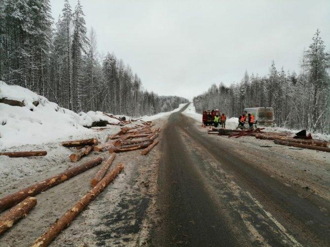 В ДТП с лесовозом в Карелии погиб человек (3)