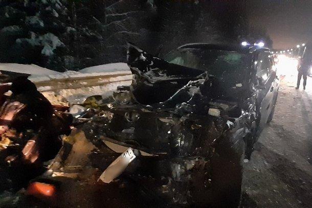 Два человека погибли в ДТП под Сыктывкаром (1)