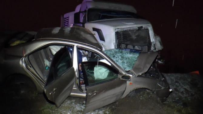 В ДТП с фурой в Калужской области погиб человек