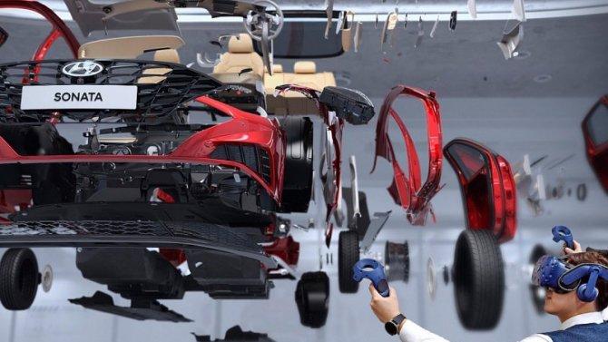 Hyundai начал проектировать автомобили в3D-пространстве