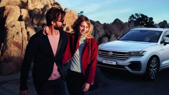 Volkswagen Touareg — машина для него и для нее