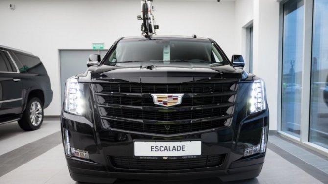 Уникальная версия Cadillac Escalade в «Авилон».