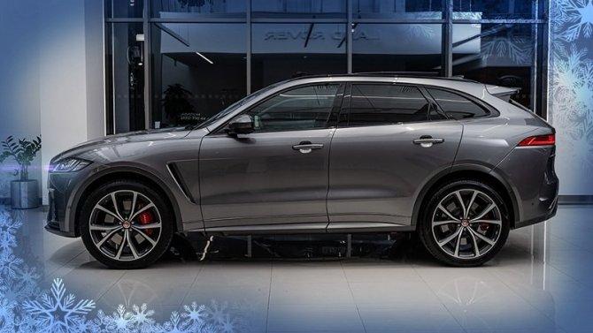 Jaguar F-Pace с преимуществом до 397 000 рублей в «АВИЛОН»