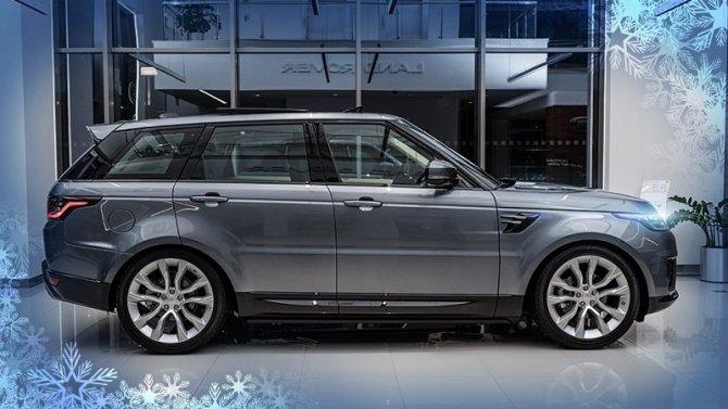 Range Rover Sport с преимуществом до 742 000 рублей в «АВИЛОН»