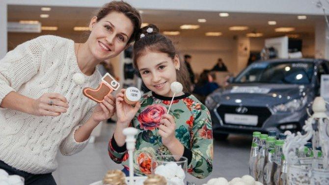 Автоцентры Hyundai КЛЮЧАВТО собрали клиентов на уютном новогоднем празднике