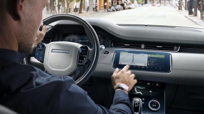 Вавтомобилях Jaguar Land Rover обновят электронику