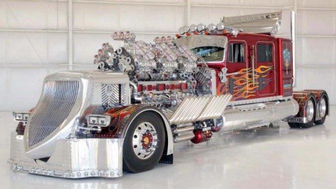 Сверхмощный грузовик THOR 24 продан нааукционе
