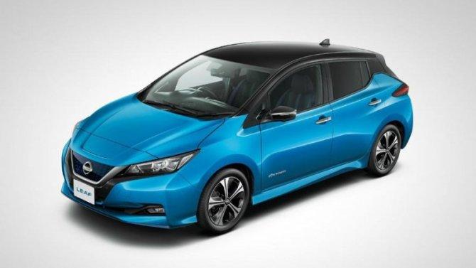Обновлён электромобиль Nissan Leaf