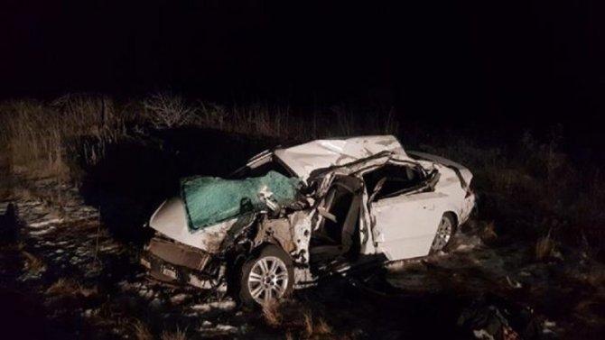 Два человека погибли в ДТП с КамАЗом в Самарской области