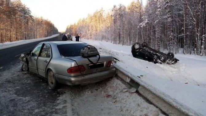 Две женщины пострадали в ДТП на трассе «Кола»