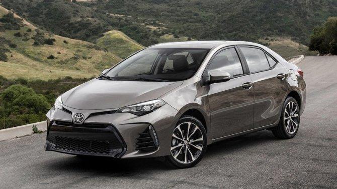 Европейские версии Toyota Corolla станут только гибридными