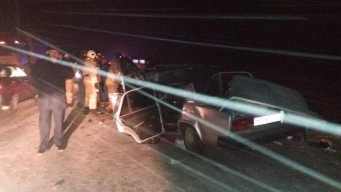 Пять человек погибли в ДТП на Алтае