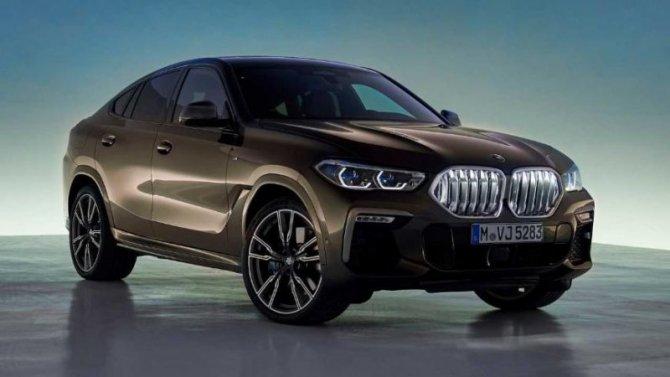 ВРоссии начались продажи обновлённого BMW X6