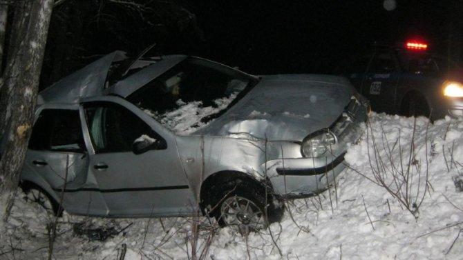 В Карелии два человека пострадали в ДТП