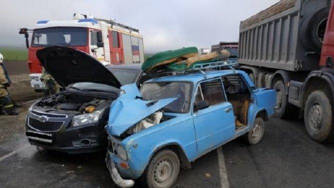 Два человека пострадали в ДТП на «Тавриде»