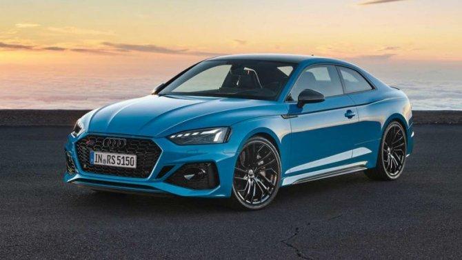 Представлены две обновлённые версии Audi RS5