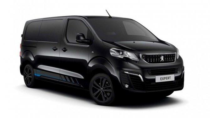 Фургон Peugeot Expert получил «спортивную» версию