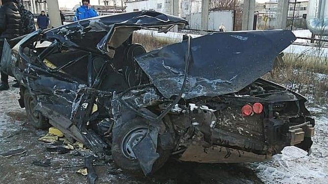 В Нефтекамске в тройном ДТП погибли два человека