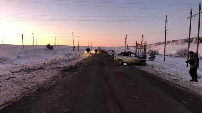Водитель ВАЗа погиб в ДТП в Башкирии
