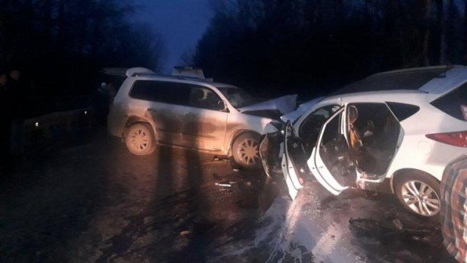 4-летний ребенок погиб в ДТП в Борском районе Нижегородской области