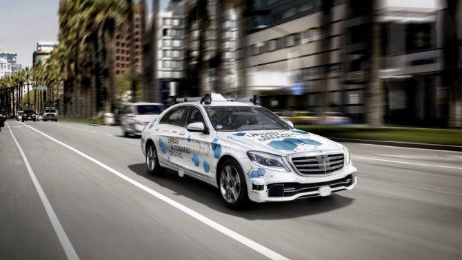Mercedes-Benz начал тесты своих беспилотных такси