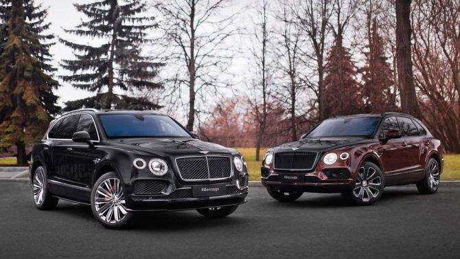 Два новых Bentley Bentayga получили российские ценники