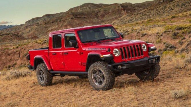 Пикап Jeep Gladiator запатентован в России