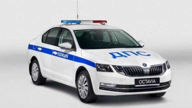 Новая Skoda Octavia будет служить вГИБДД