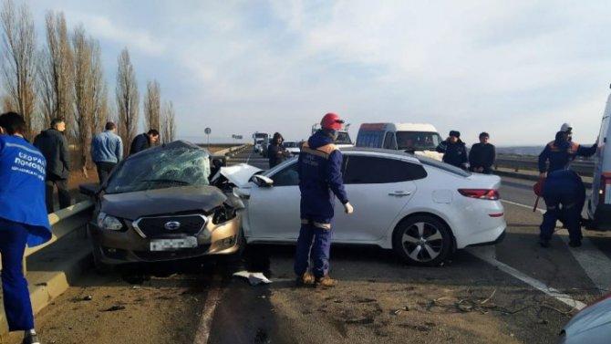 Двое погибли в ДТП в Ставропольском крае