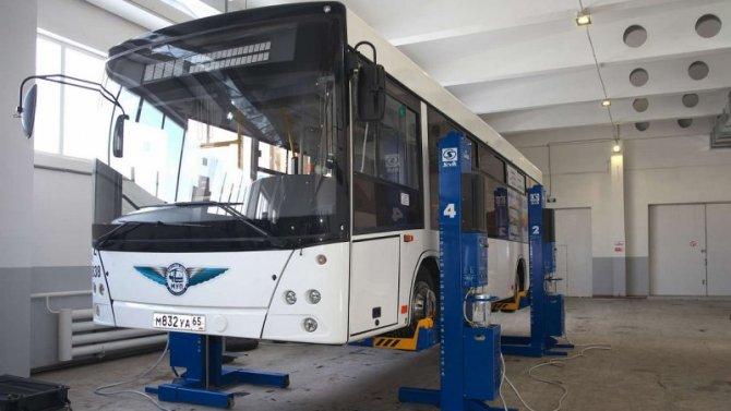 Техосмотр автобусов поручат ГИБДД